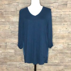 Olsen blue top size 12